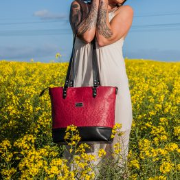 Exotic Leather Tote